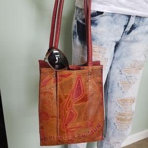 Handbags - Leather Beach Bag Tote